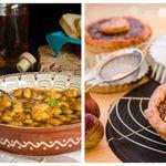 Κυριακάτικο τραπέζι: Γίγαντες φούρνου με μυρωδικά και πάστα φλώρα με μαρμελάδα