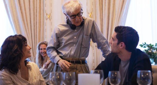 Una foto di scena del film di Woody Allen RIFKIN'S FESTIVAL, che sarà , proposto da Vision Distribution...