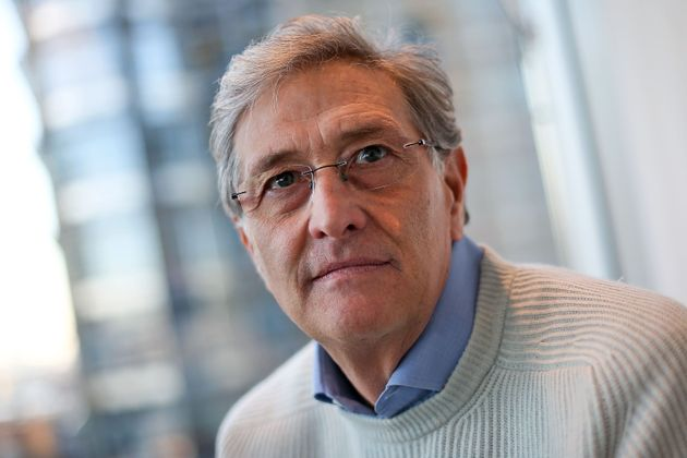 Italian director of the European Medicines Agency (EMA), Guido Rasi, poses for a portrait at the organisation's...