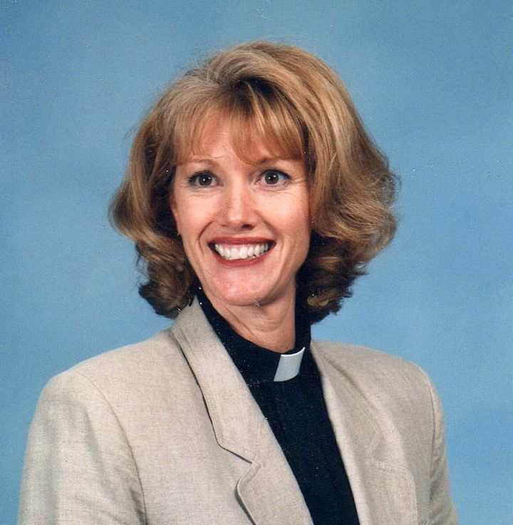 The author's portrait for her church's directory (1997).