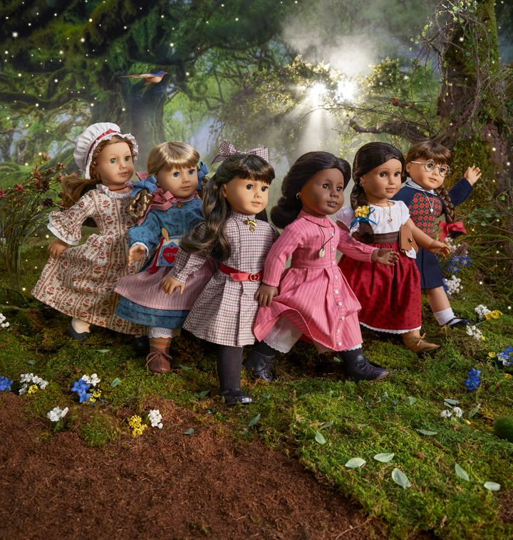 American Girl is reintroducing six original historical characters.