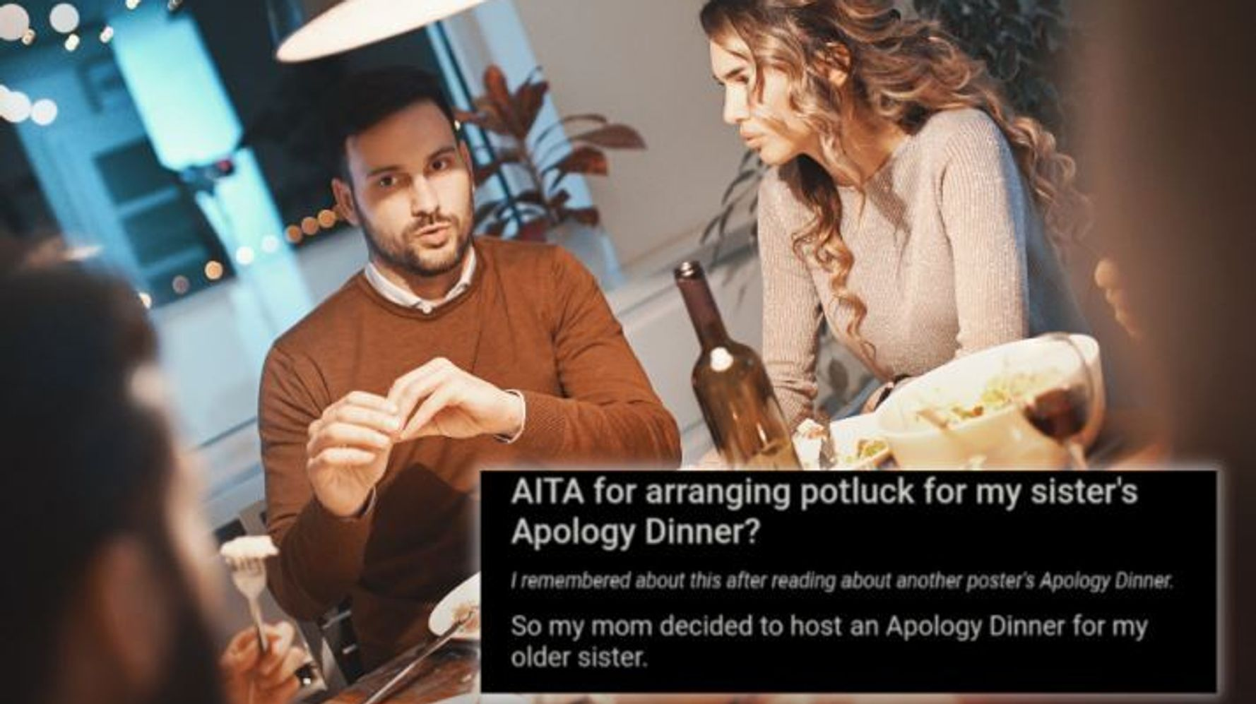 Therapists Have Some Thoughts About That Viral 'Apology Dinner'