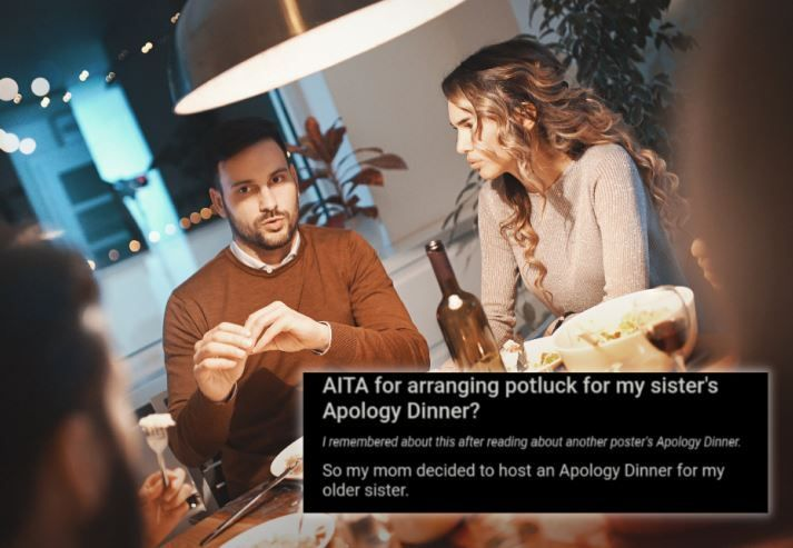 """Are people making apology dinners a thing now?"" social media users are wondering."