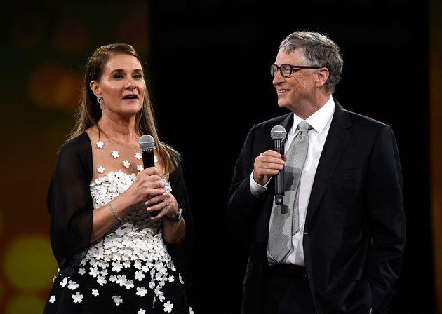 Melinda y Bill Gates, en un acto benéfico hace unos