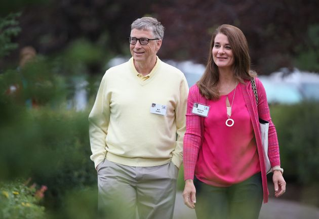 Bill et Melinda Gates, ici à Sun Valley dans l'Idaho aux États-Unis, le 3 mai