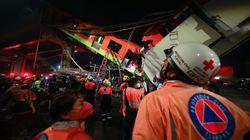 Al menos 15 muertos y 70 heridos al hundirse una vía elevada de metro en Ciudad de
