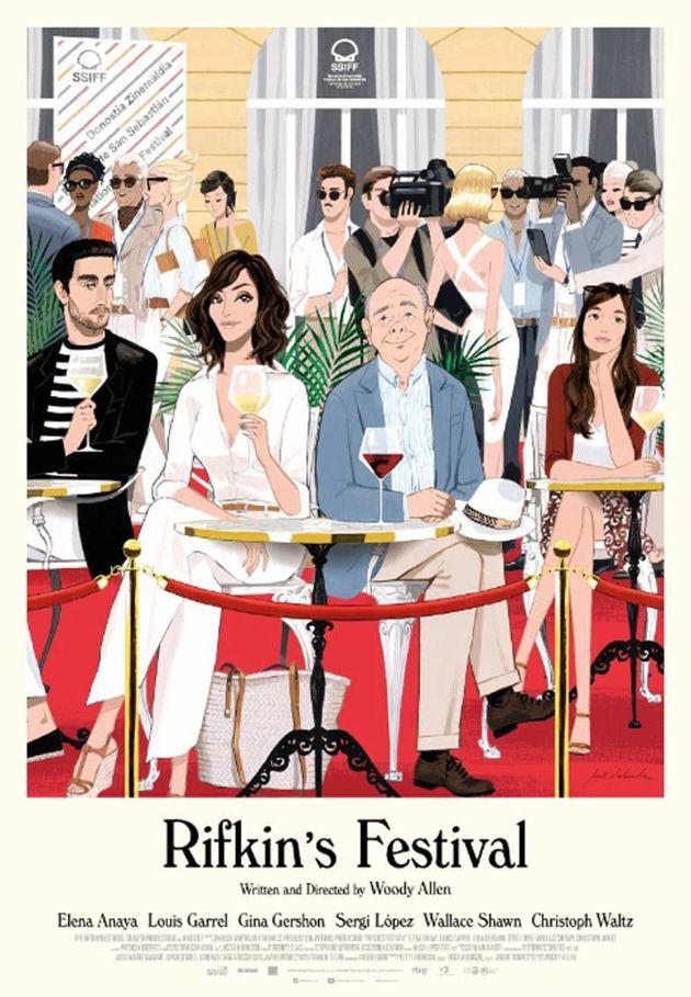 Woody Allen va in analisi con RIFKIN'S FESTIVAL, Il film, proposto da Vision Distribution nei soli cinema...