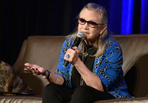 Carrie Fisher pictured in