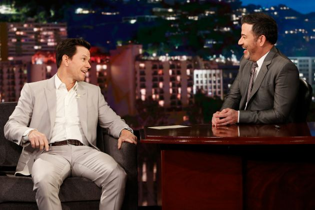 Mark Wahlberg and Jimmy Kimmel