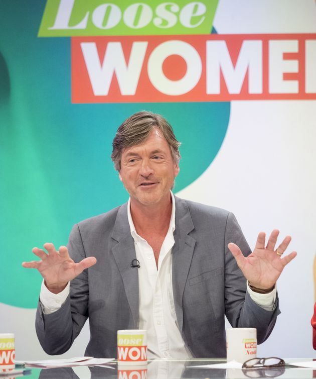 Richard Madeley on Loose Women in