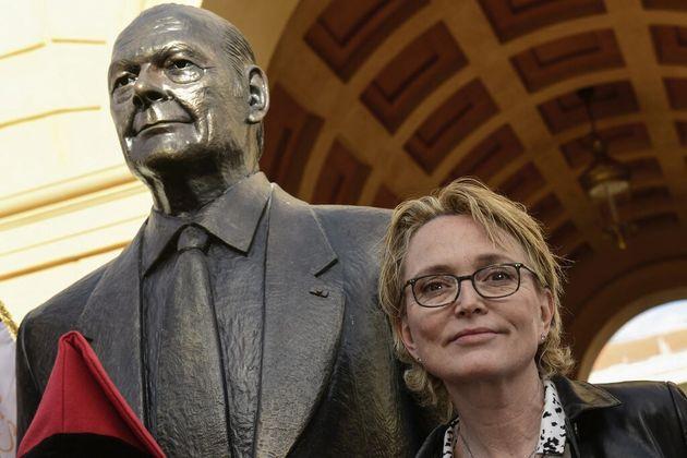 Claude Chirac se présente à une élection pour la première