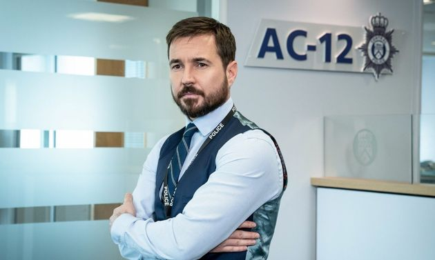 Martin Compston as Steve Arnott in Line Of