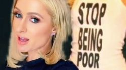Paris Hilton Sets The Record Straight On That Viral 'Stop Being Poor'