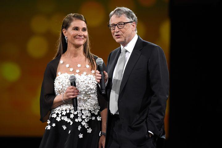 Melinda y Bill Gates, en una imagen de archivo.