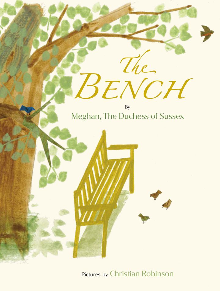 """The cover of """"The Bench."""""""