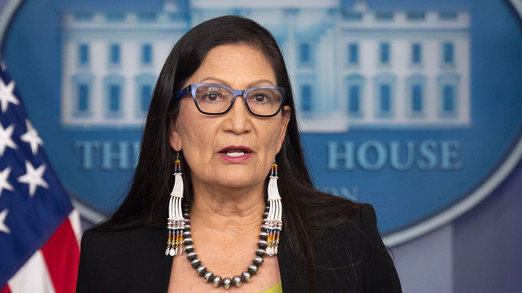 Deb Haaland: 'Unfortunate' That Rick Santorum Doesn't Know Native American History