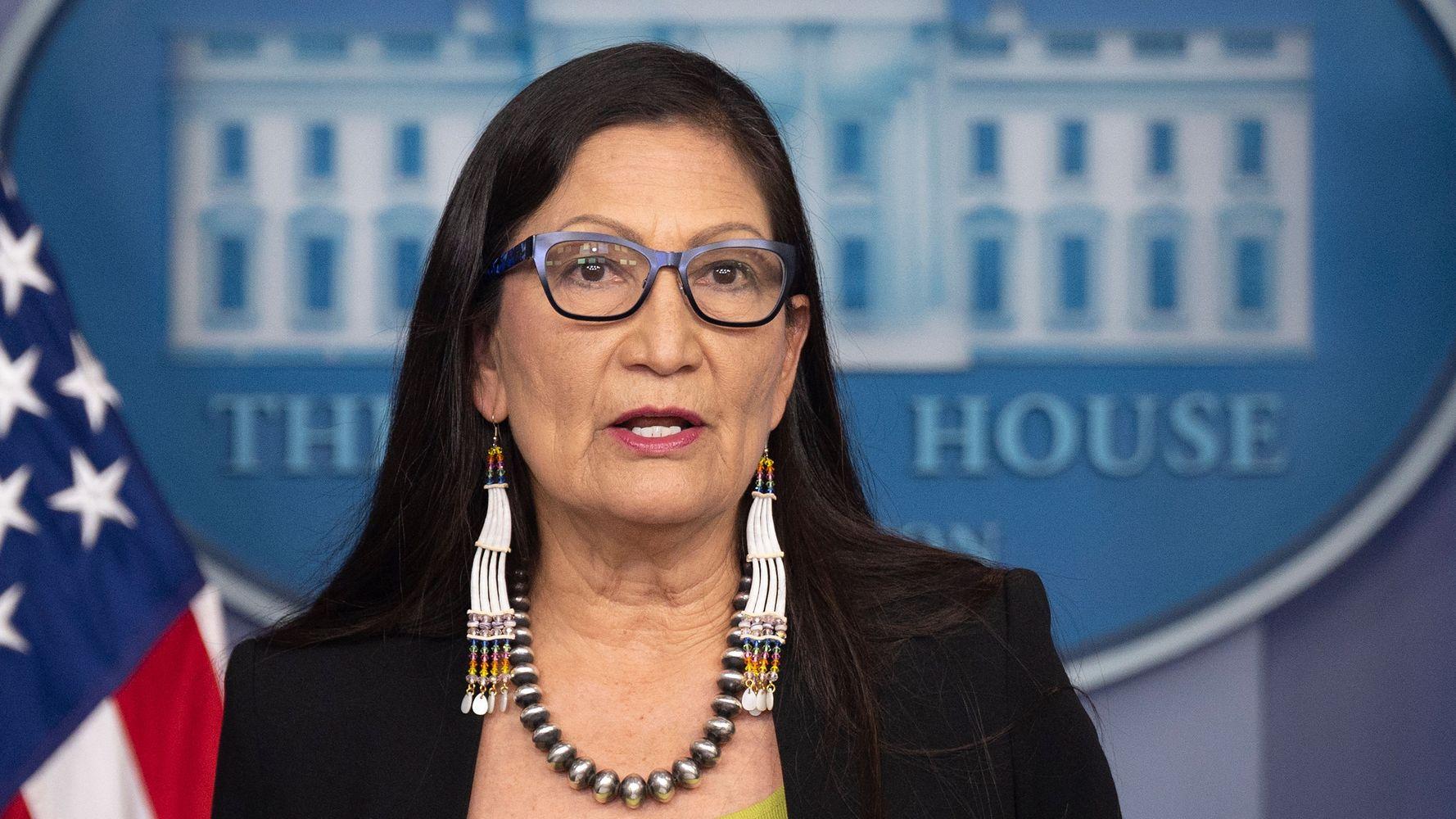 Deb Haaland: 'Unfortunate' That Rick Santorum Doesn't Know Native American History