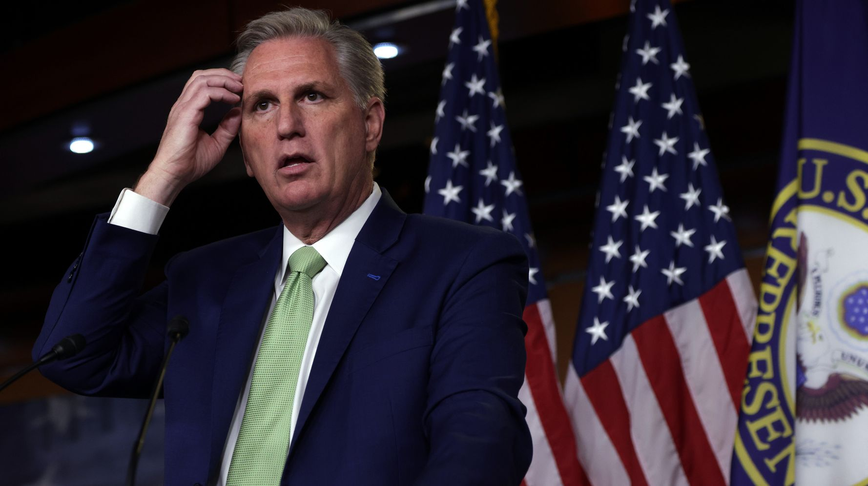 Kevin McCarthy Caught On Hot Mic Saying He's 'Had It' With Liz Cheney: Report