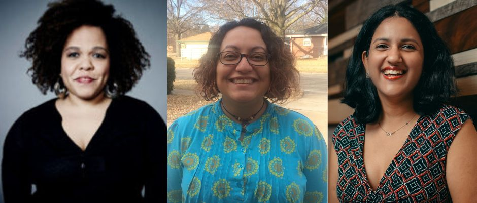 Cara Reedy, left, is a program manager at the Disability Media Alliance Project; Lisette Torres-Gerald is a disability activist; and Meenakshi Das is a software engineer.