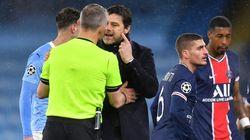 L'arbitre de PSG / Manchester City aurait insulté des joueurs, selon Herrera et