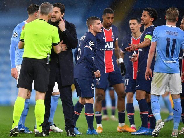 Après PSG / Manchester City, l'arbitre Björn Kuipers d'insultes (photo du 4 mai