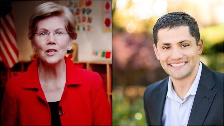 Sen. Elizabeth Warren (D-Mass.) is backing state Del. Sam Rasoul, a political ally who shares her progressive economic ideas.