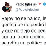 Cómo se despidió Iglesias de Rajoy y cómo lo despiden a él: las comparaciones son