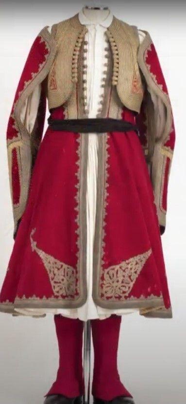 Η φορεσιά του Δημήτρη Τσώκρη (1796 - 1875), αγωνιστή και πολιτικού από το Αργος