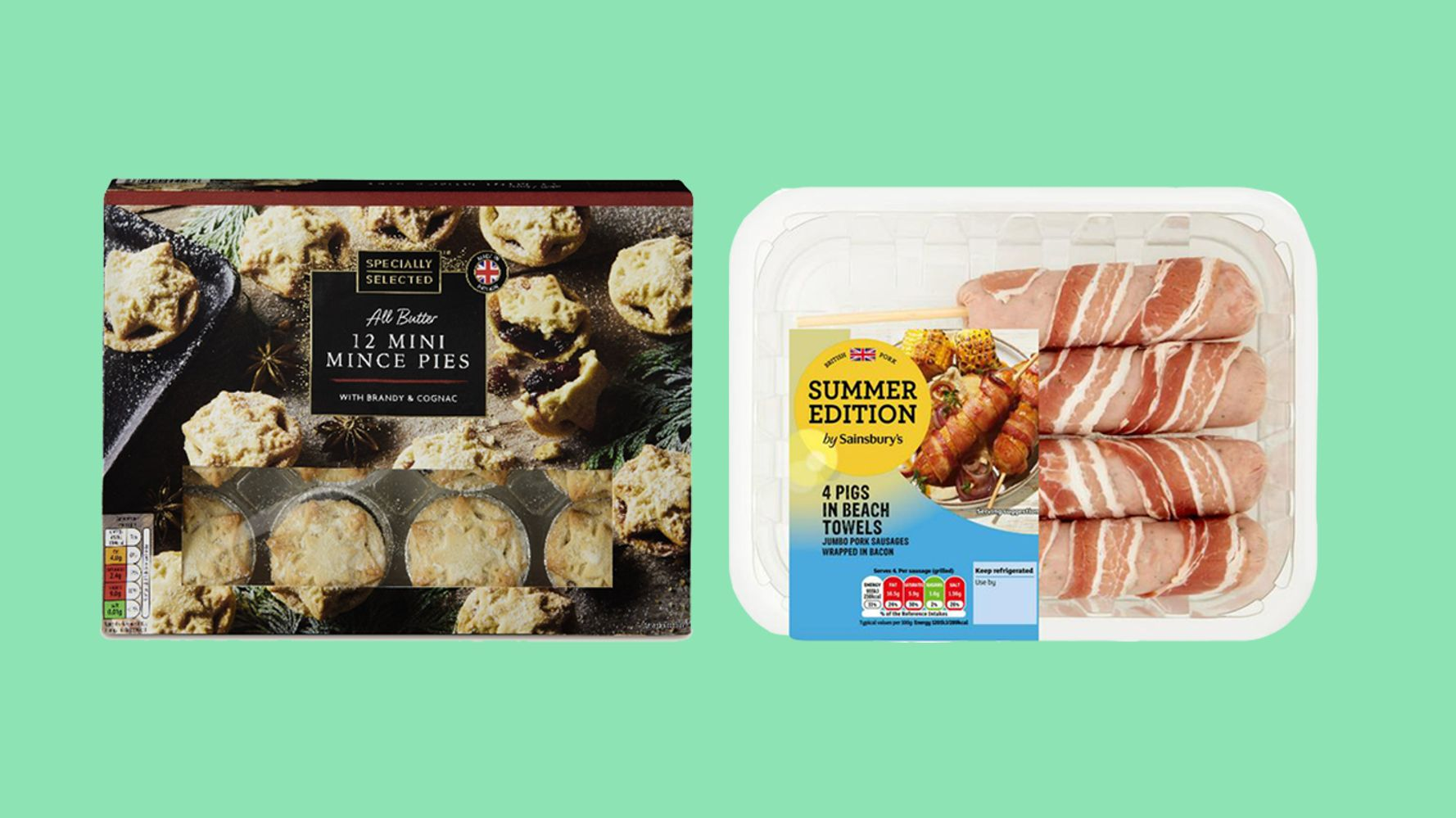 Mince Pies In June, Pigs In 'Beach' Blankets – It's A No From Us