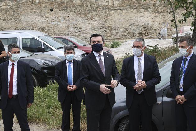 O Tούρκος υφυπουργός...