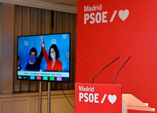 Hotel donde siguió el PSOE la noche