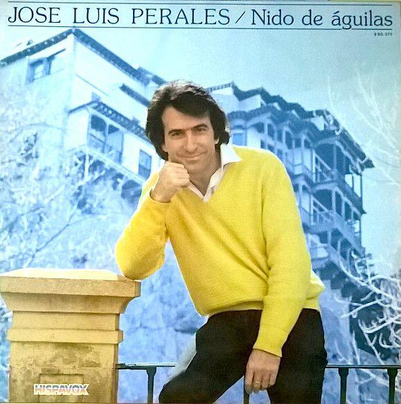 Portada del disco 'Nido de águilas', de José Luis