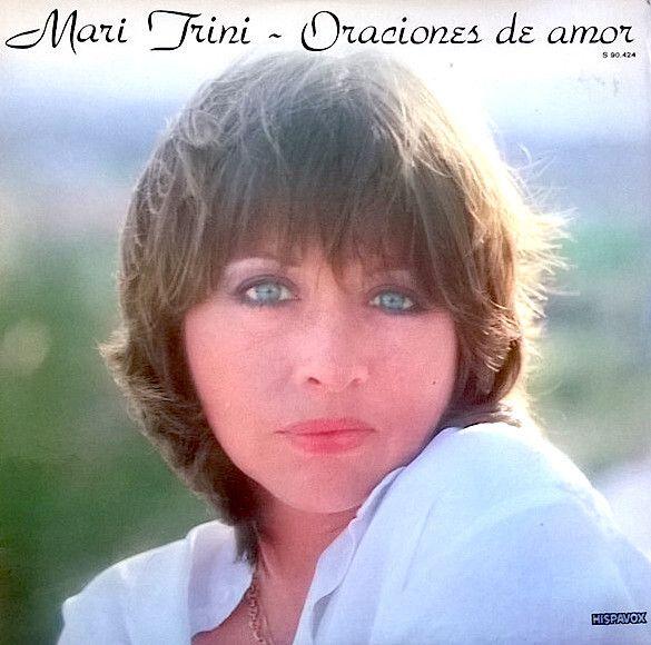 Portada del disco 'Oraciones de amor', de Mari