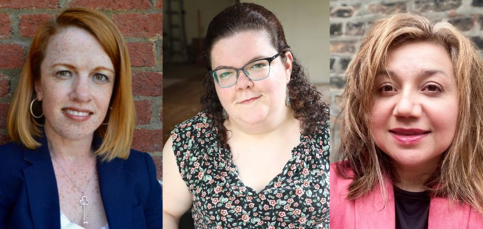 Rebecca Cokley (left) is a disability rights activist and program officer at the Ford Foundation; Emily Ladau is an author and disability rights activist; and Leonor Vanik is president of the National Coalition for Latinxs with Disabilities.