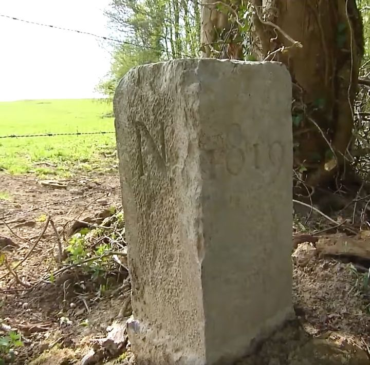 A Belgian farmer has increased the size of his country after moving a marker on the country's border with France in order to