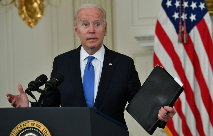 """President Joe Biden said Wednesday he was surprised the GOP was still figuring """"out who they are and what they stand fo"""