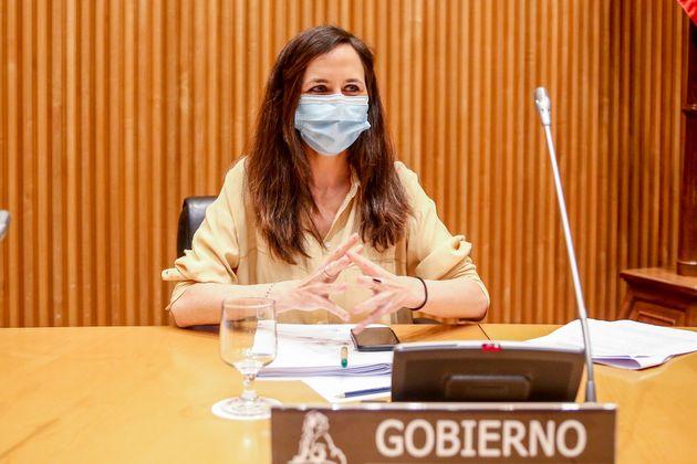 Ione Belarra,ministra de Derechos Sociales y Agenda
