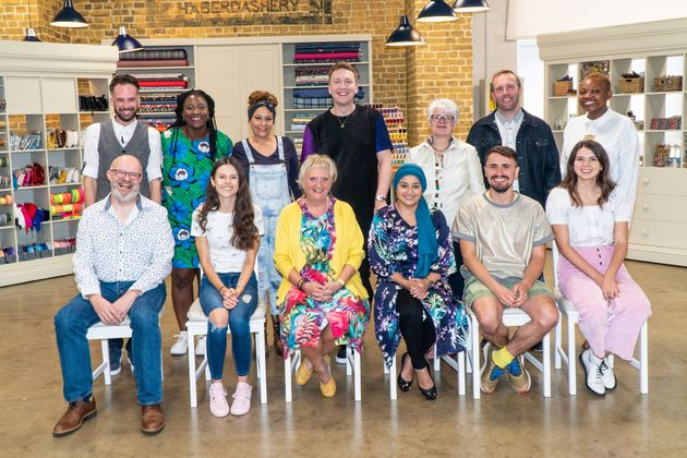 Great British Sewing Bee Judge Esme Young Had A Great Message Behind Her Unusual Necklace