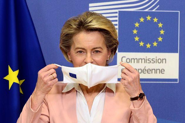 Ursula Von Der Leyen, el pasado enero, en una comparecencia en la Comisión Europea, en