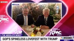 GOP's 'Degrading Displays Of Affection' For Trump On Full Display In MSNBC