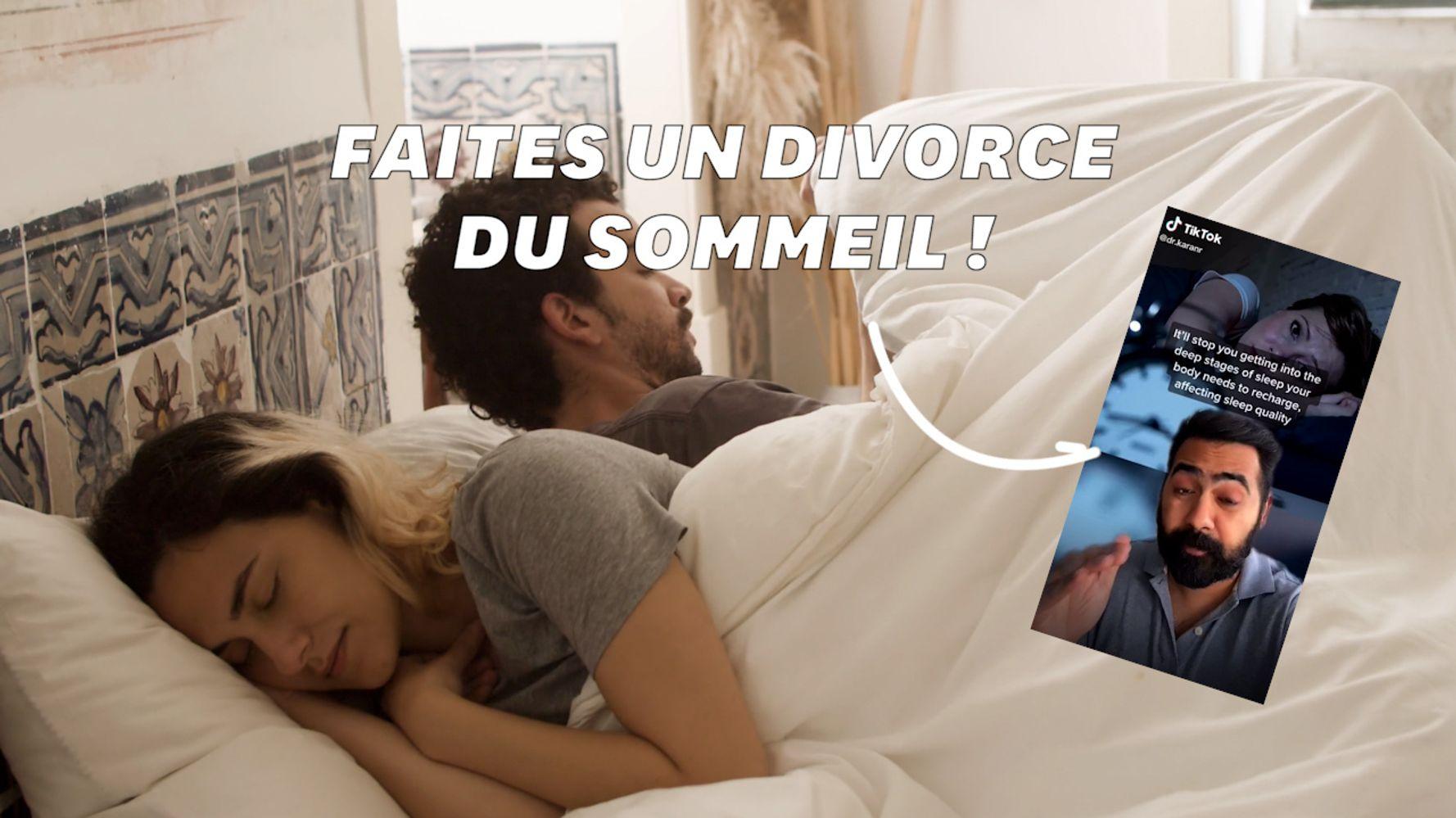Dormir seul, le conseil de ce médecin aux couples pour ne plus manquer de sommeil