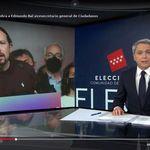 La despedida de Vicente Vallés a Pablo Iglesias: varias frases rotundas y un final