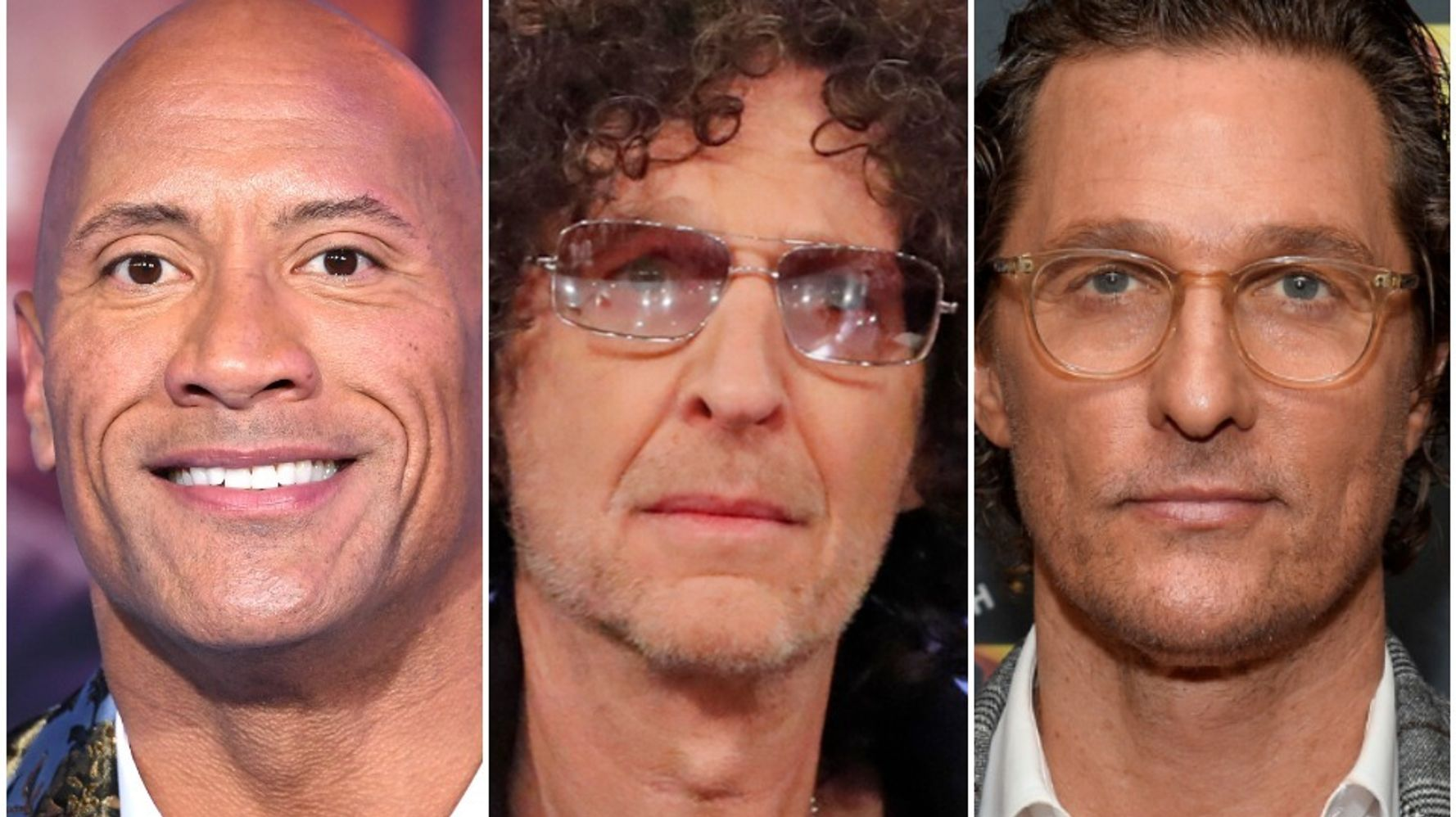 Howard Stern Offers Some Blunt Advice For Dwayne Johnson, Matthew McConaughey