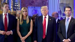 Trump's Adult Children Are Still Costing Taxpayers Thousands Of Dollars A