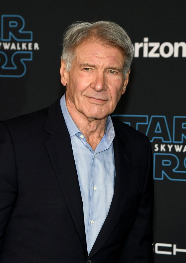 Harrison Ford at a Star Wars premiere in