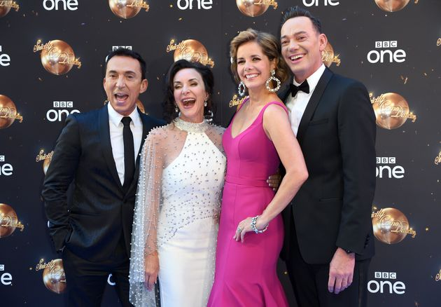 Darcey with her former Strictly co-stars in
