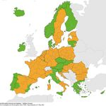 ECDC: Πράσινη για τρίτη εβδομάδα η Ελλάδα στον δείκτη