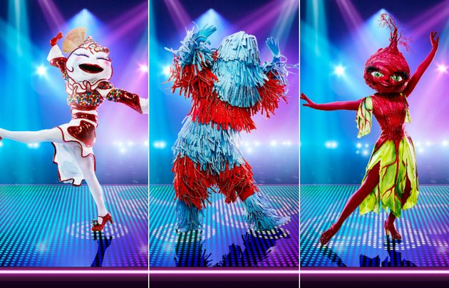 The Masked Dancer's cast of characters include Knickerbocker Glory, Carwash and