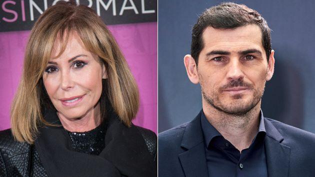 La presentadora Lara Dibildos y el deportista Iker