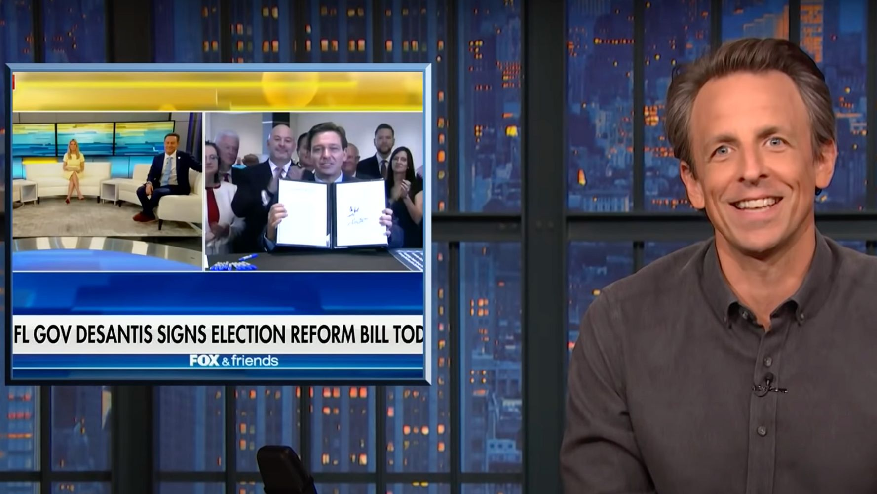 Seth Meyers Highlights The Only Thing Republicans Really Care About